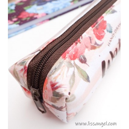 "Estuche Floral ""Watercolor"""