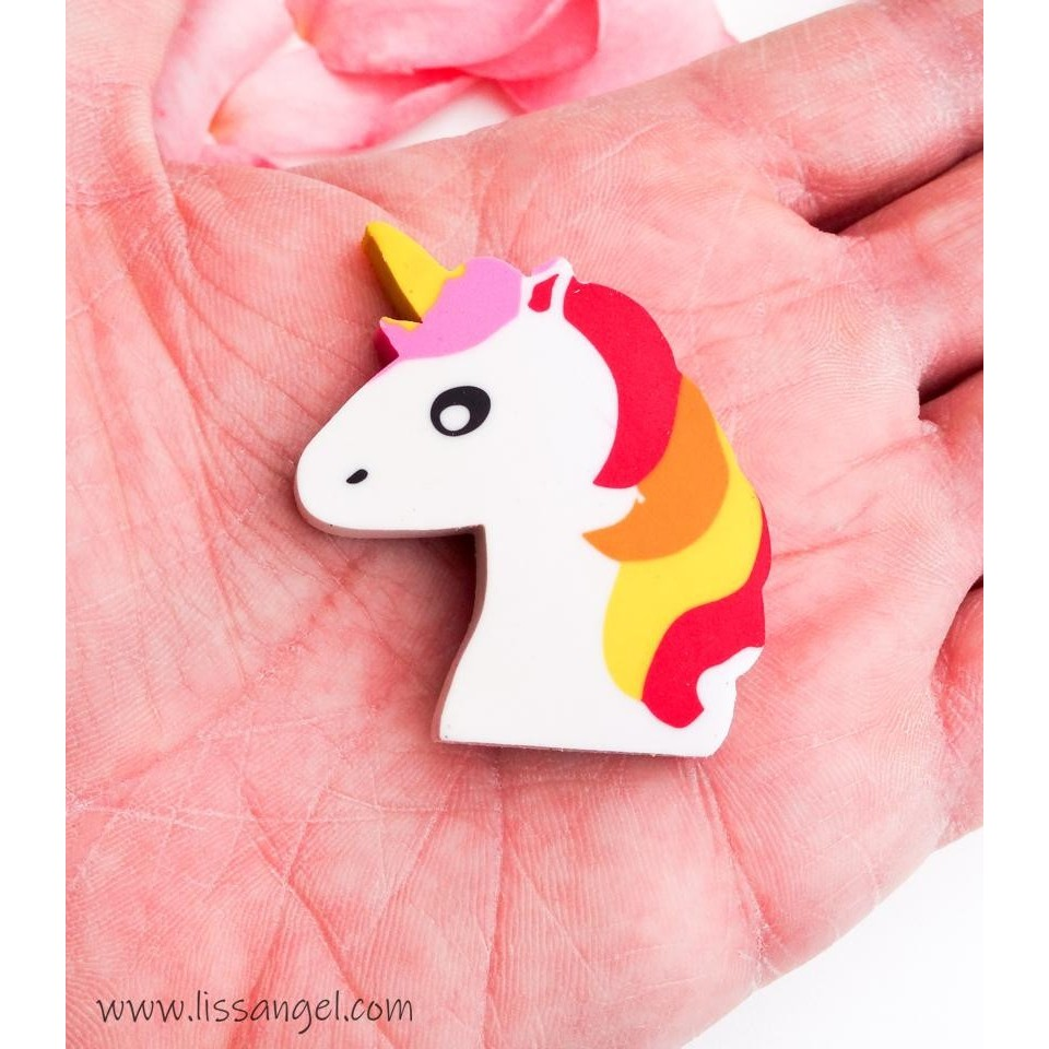 Unicorn Kawaii Eraser