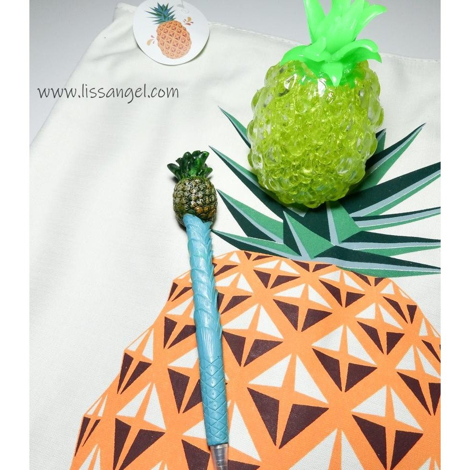Pinneapple Pack: Tote Bag + Squishy + Pen