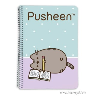 Writing Pusheen Notebook (A5)