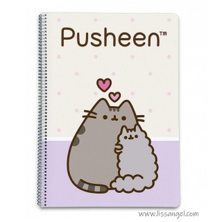 Love Pusheen Notebook (A5)