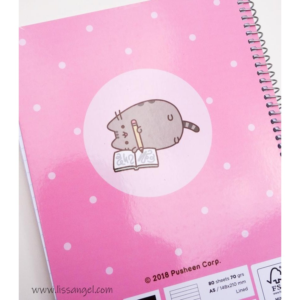 Cuaderno Pusheen Love (A5)