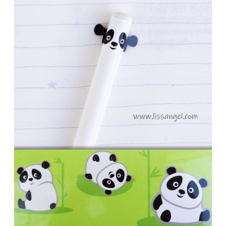 Panda Bear Pencil with Little Ears