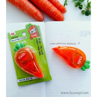 Kawaii Carrot Correction Tape