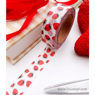 Wild Strawberries Washi Tape