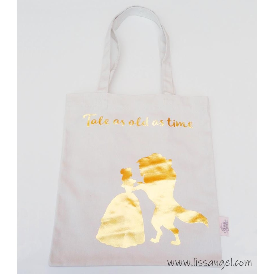 Beauty and the Beast Shopper Tote Bag