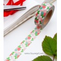 Floral Washi Tape with Roses