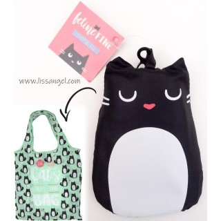 Foldable Cats Shopping Bag
