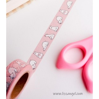 Kawaii Polar Bears Washi Tape