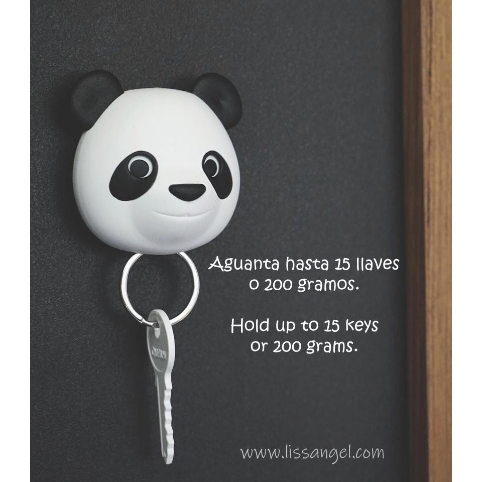 Colgador de Llaves Panda (Pandy Pan by Qualy)