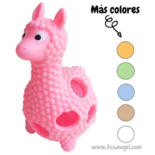 Squishy de Alpaca Kawaii (Perlas Gel)