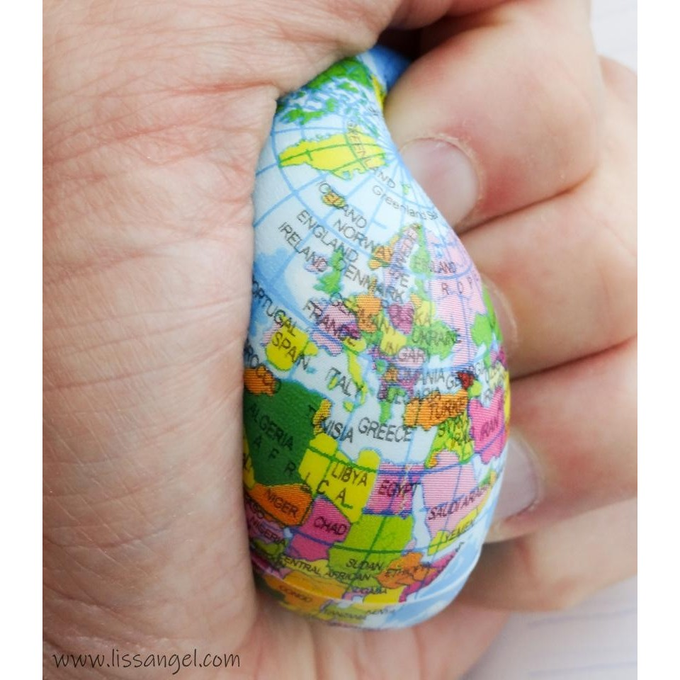 Anti-stress Ball Squishy World Ball