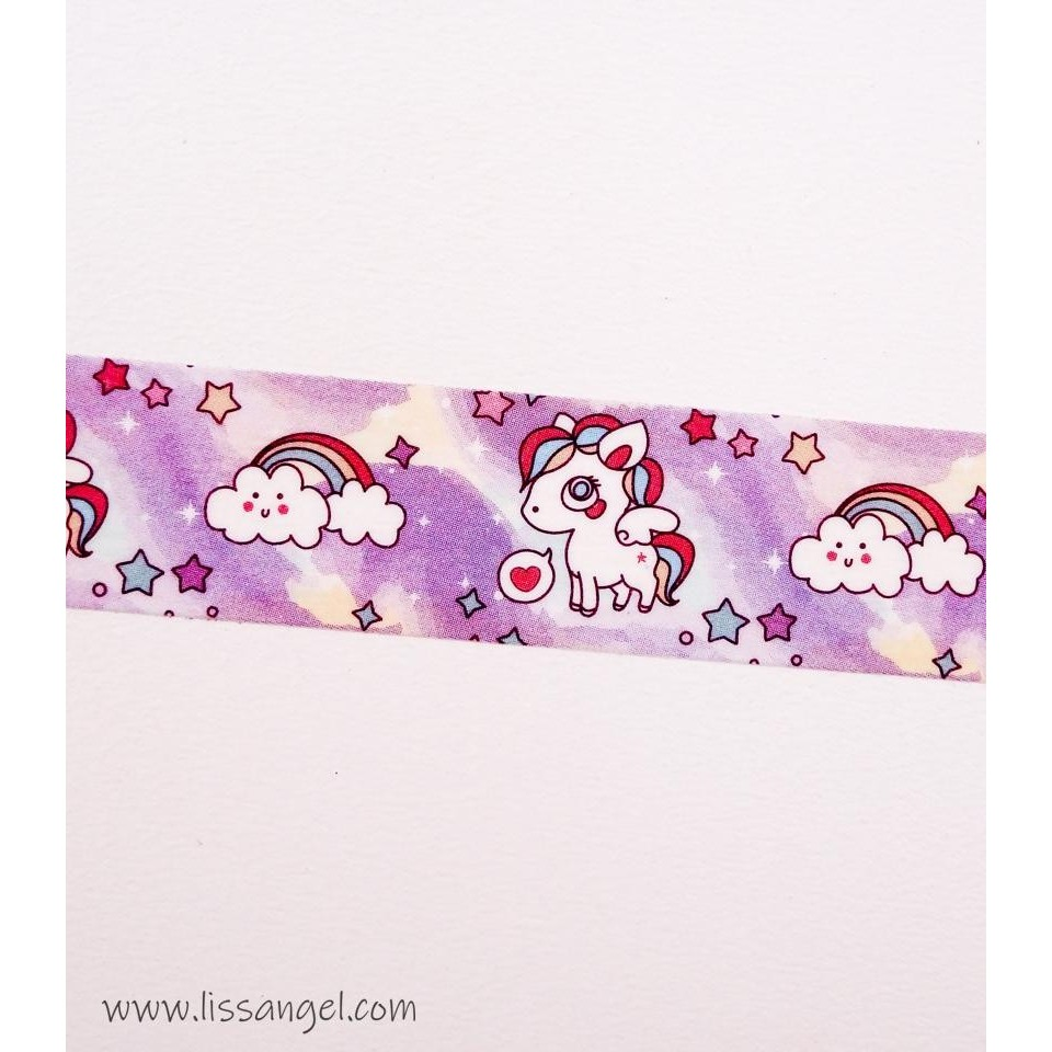 Kawaii Unicorns Washi Tape