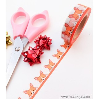 Kawaii Fox Washi Tape