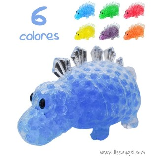Stegosaurus Dinosaur Squishy (Gel Beads)