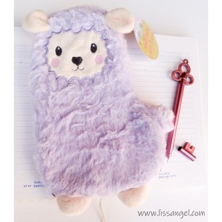 Soft & Fluffy Gala Llama Pencil Case