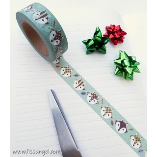Washi Tape Zorros Adorables