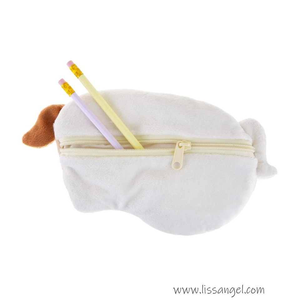 Soft & Fluffy Puppy Dog Pencil Case