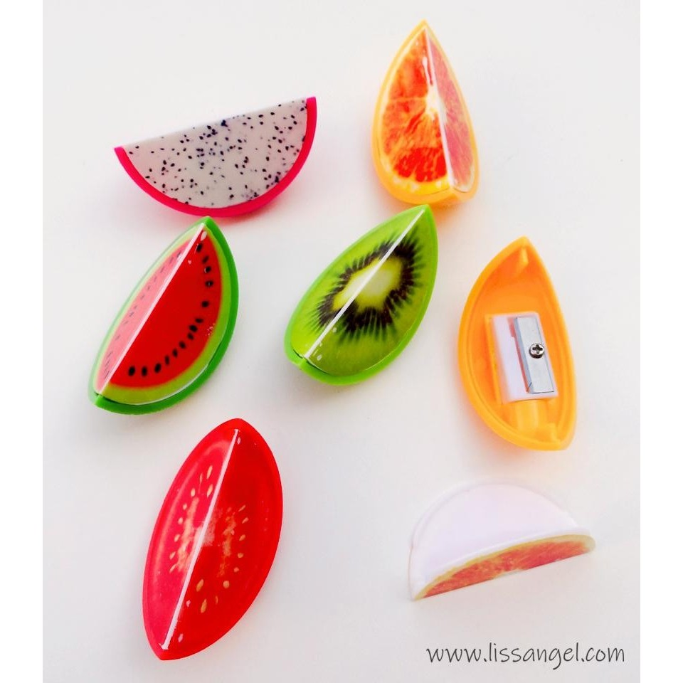 Delicious Fruit Pencil Sharpeners