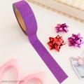 Purple Washi Tape with Glitter