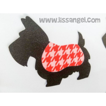 Scottie Dog Cushion Cover (Filling optional)