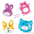 Pets Squishy Stickers - Kawaii Animals (Unit)