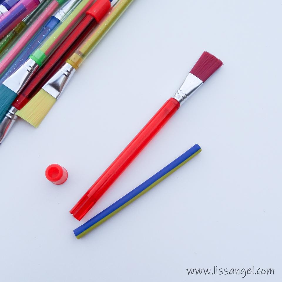"Eraser with Brush ""Broom"""
