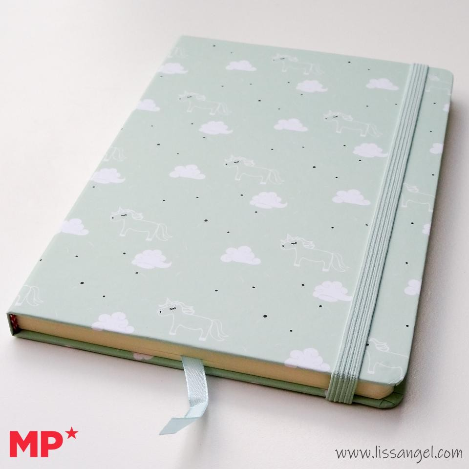 Cuaderno Kawaii Nubes y Unicornios - MP - (A5)