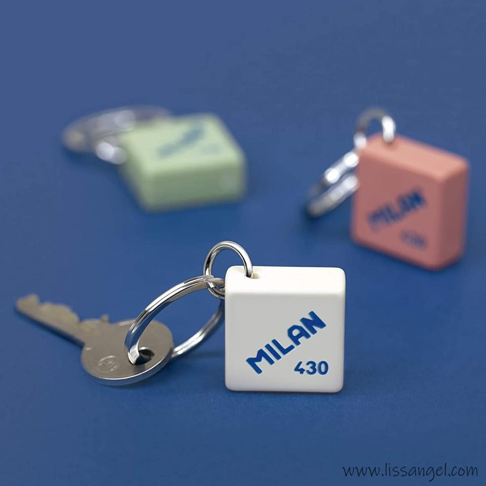 Key Ring MILAN 430 Eraser