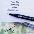 Fine Tip Permanent Marker 0.4mm - Black - MP