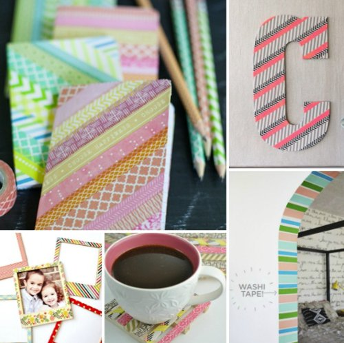 ¡Decóralo todo con washi tapes!