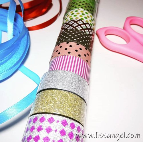 ¿Qué son los washi tapes?