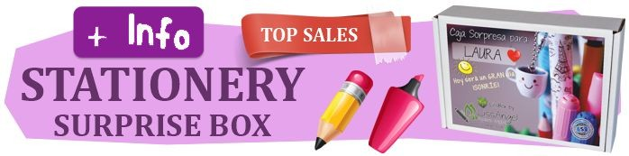 The perfect gift! A beautiful stationery surprise box!