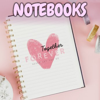 Beautiful notebooks for your inspiration