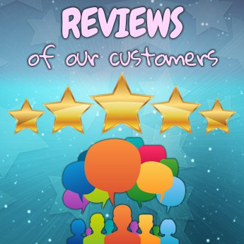 Read our customer's reviews... You can trust us!