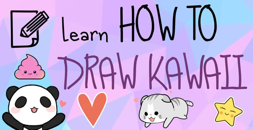 How to draw kawaii? Kawaii Drawings - Download them for coloring