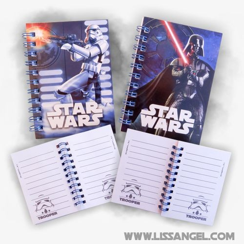 5) Set of 2 Notebooks