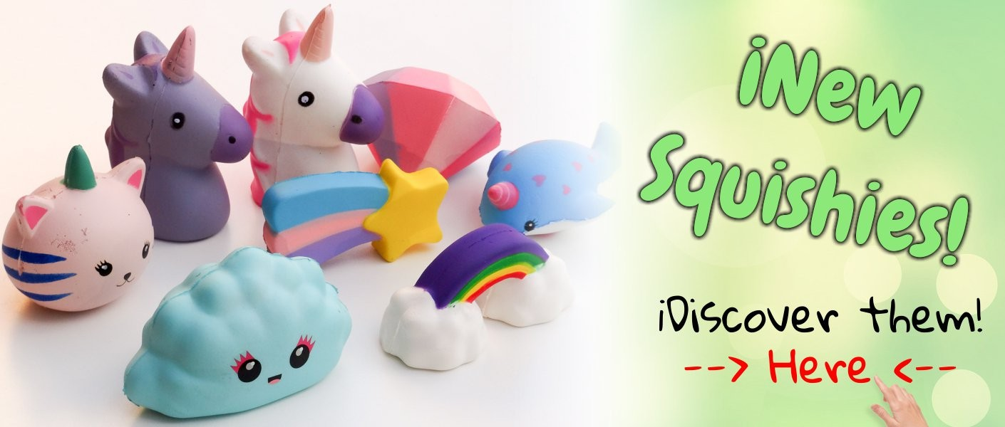 Relieve your stress with our funny squishies!
